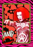Vamp Trading Card by Hartter