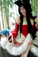 Ahri cosplay 2 by spacechocolates
