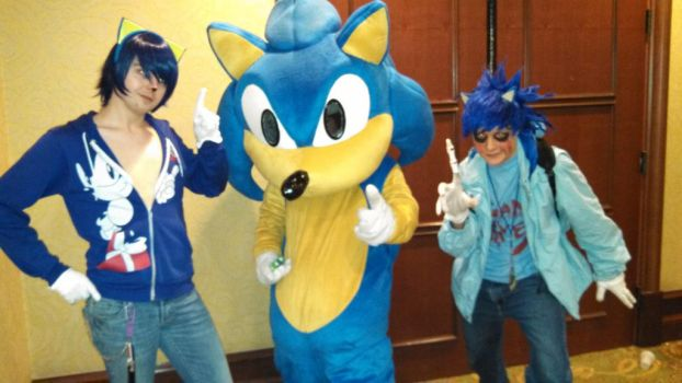 All three Sonics! by theultimaarchives
