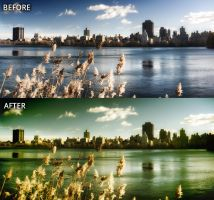 Photoshop Action R1: Cold Warm by rod750