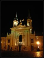 Drumhead Cathedral in Warsaw by bwanot