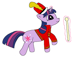 Twilight Leads the Marching Band by Naytree