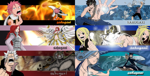 Fairy Tail sigs by irishcaffine