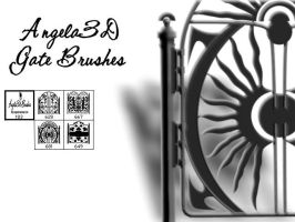 Angela3D Gate Brushes for PSP by angela3d