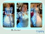 Steampunk Mrs Frost outfit WIP test by Cyanida