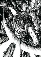 Gambit Colossus vs Brood Inks by DKuang