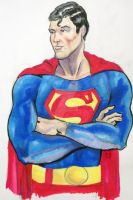 superman Sketchbook by Gerlich-Illustration