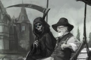 Farewell Sir Terry Pratchett by Abend86