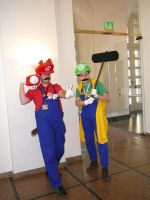 Mario and Luigi Cosplay 2008 by victorymon