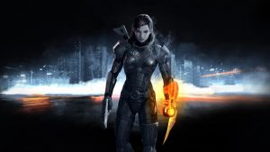 Mass Effect 3 Wallpaper 02v3 by PimplyPete