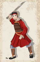 Historically Accurate Mulan by Pelycosaur24