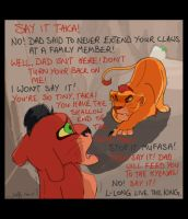 Mufasa and Taka childhood by Juffs
