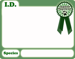 Registration Template - Unowned Adoptables by Isadoln-Dale