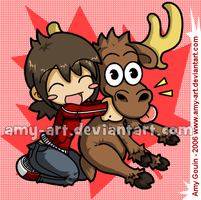 HUG A MOOSE by amy-art