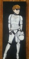 Mary as Stormtrooper by bartelnathaniel