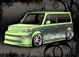 Scion-Green pearl by Morfiuss