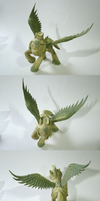 Celestia's Royal Pegasus Guard final sculpt. by frozenpyro71