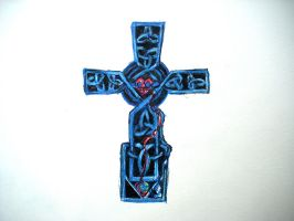 Knotwork Cross by CnickArach