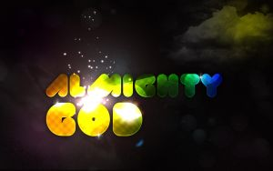 ALMIGHTY . GOD by AngelLover89