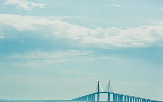 the sunshine skyway by Daomaai