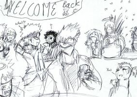 Welcome Back Kakashi by MethylKy06