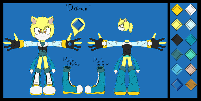 References to Daimon by GuilleWolf
