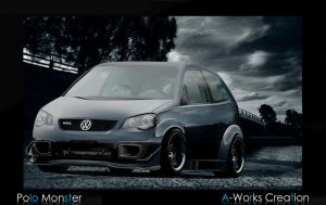 Vw Polo Monster - Anton by antongj
