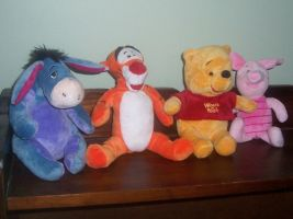 Winnie the Pooh and Friends Plush by ChipmunkRaccoon2