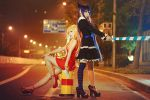 Panty Stocking with Garterbelt-Street Angel by Sakina666