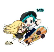 Skate Crossover (?) by Kaseshi