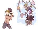 Sherlock + Tangled silliness by FowlHunter