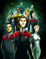Star Trek: Voyager by rocom