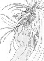 Angel Sephiroth by  squallcloud66 by squallcloud66