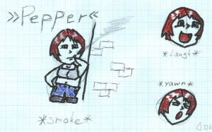 Pepper, the first try by jumomo