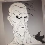 Old Man Oro Bust (updated) by EzJedi