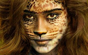 Leopard woman by situnayake