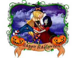 Fiolee Halloween by marianapiki