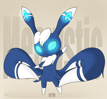 CE- Meowstic by invaderbella122