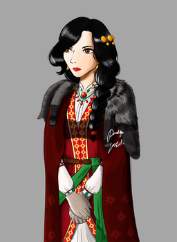 Winter Costume by umbracatervae777