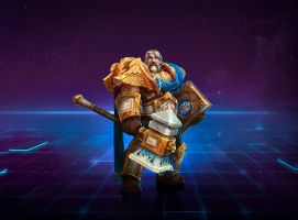 Uther (Warcraft) by Airachnid1301