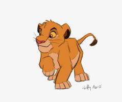 Simba sketchy by Juffs