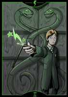 HP2: The Chamber of Secrets by Arabesque91
