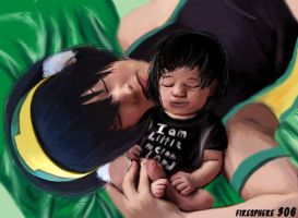 Little Melon Lord-Toph and Lin Painting by Firesphere306