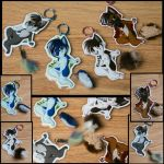 Keychains Set One by Flame-Expression