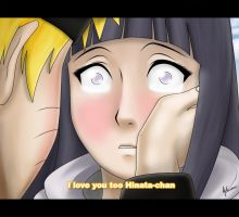 I love you too Hinata-chan by nelsonaof