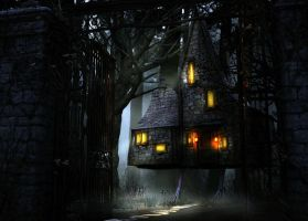 The House of Baba Yaga by Lady-Naenia
