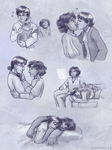 Tender moments montage by ErinPtah