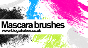 Mascara brushes by akaleez88