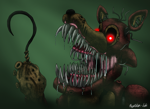 Twisted Foxy by Playstation-Jedi