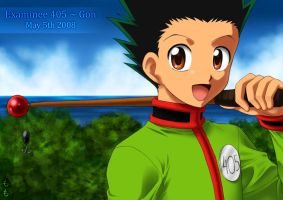 Examinee 405 - Gon by LauraPaladiknight
